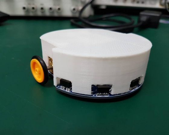 MONA – Autonomous Mobile Swam Robot II